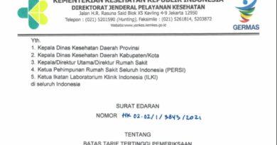 TARIF RT-PCR TURUN! INI HARGA TERBARUNYA